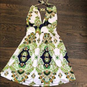 Plunging dress